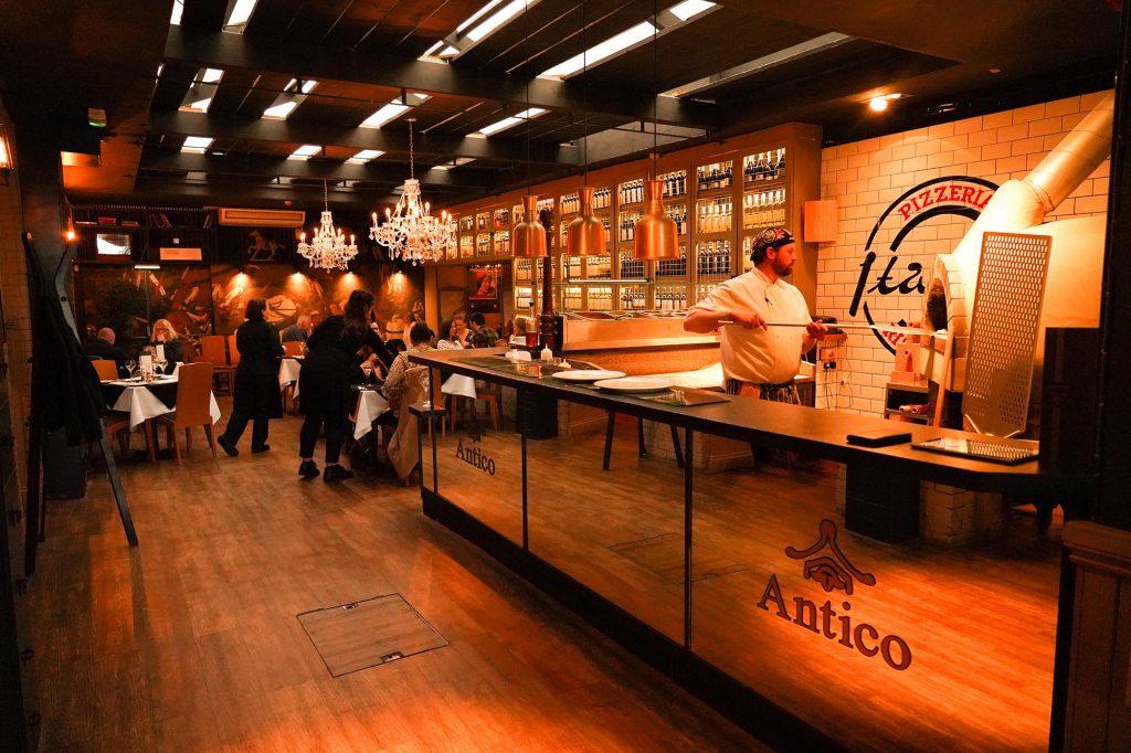 4 Restoran Pizza Asli Italia di Atlanta